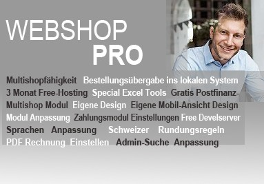 Webshop Paket Pro